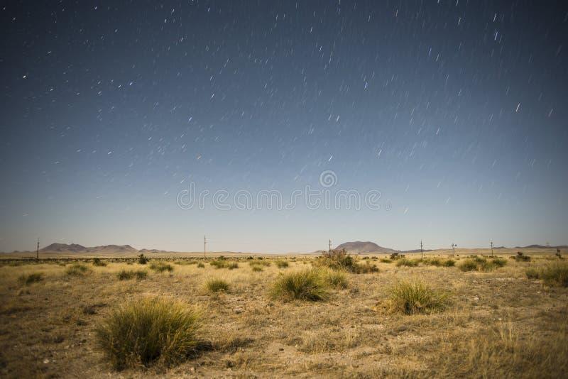Sous les étoiles photographie stock libre de droits