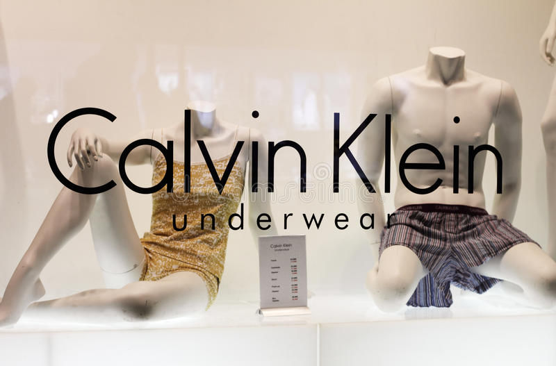 Sous-vêtements de Calvin Klein photo stock