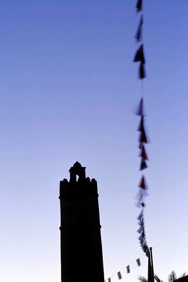 sousse Тунис минарета стоковое фото rf