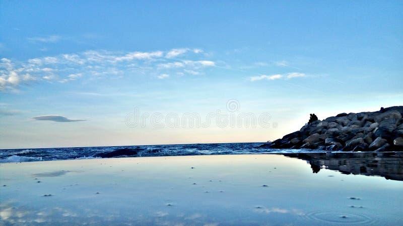 Sousse monastir mahdia beach tunisia sahel stock image