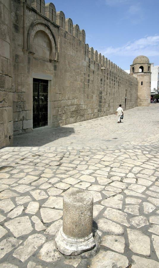 Sousse-Tunísia-mesquita imagem de stock