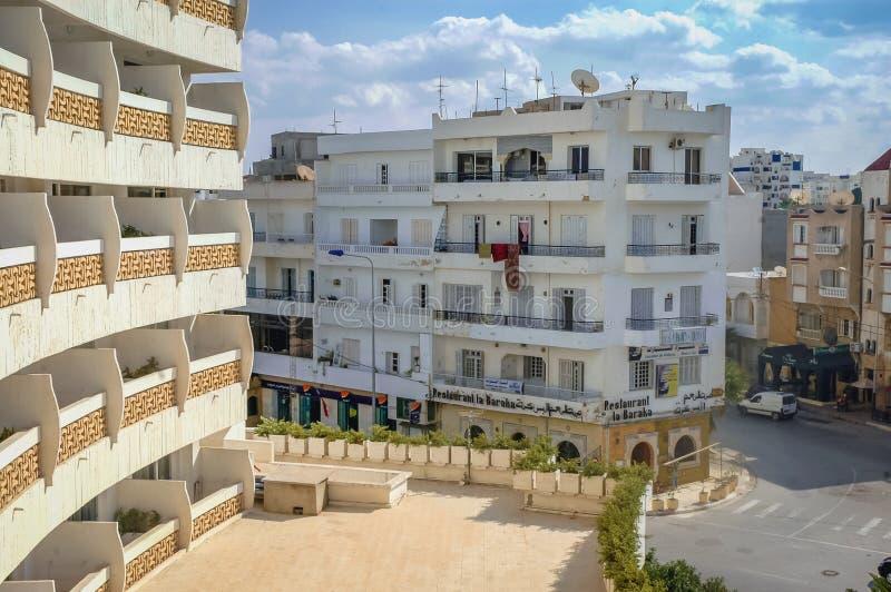 Sousse in Tunesi? royalty-vrije stock foto