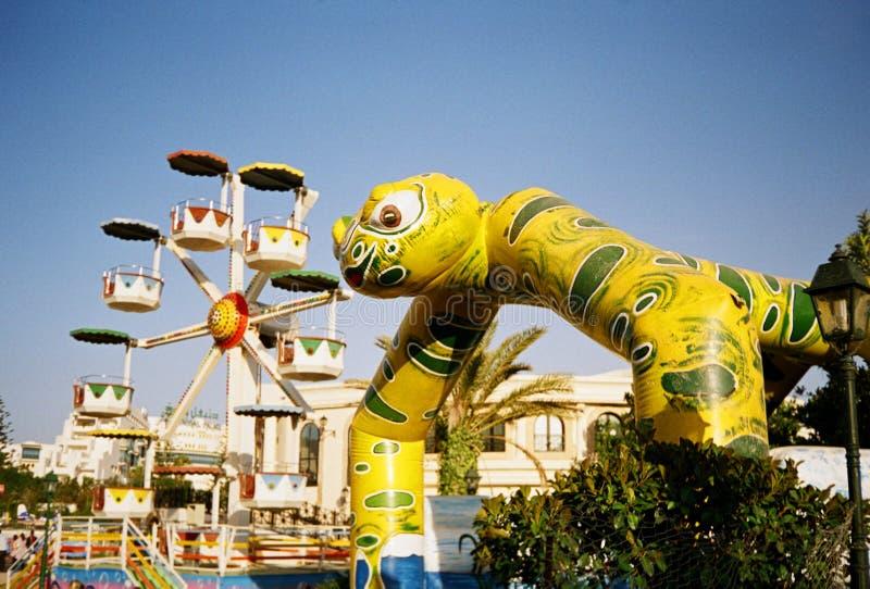 Sousse, Tunesien. Hannibal Park lizenzfreie stockfotos