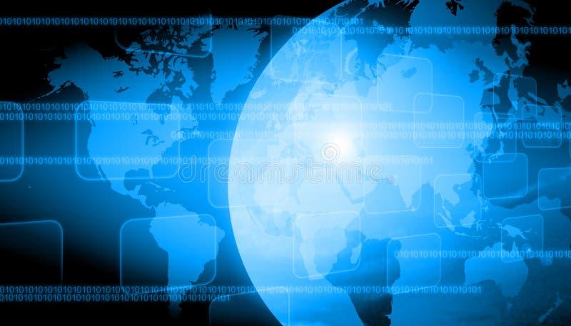 Technologie du monde illustration de vecteur