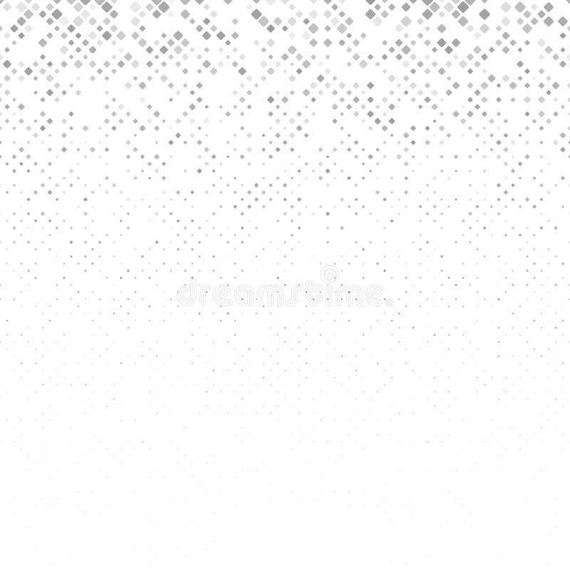 Soustrayez le fond carré arrondi de modèle des places dans des tailles variables illustration de vecteur