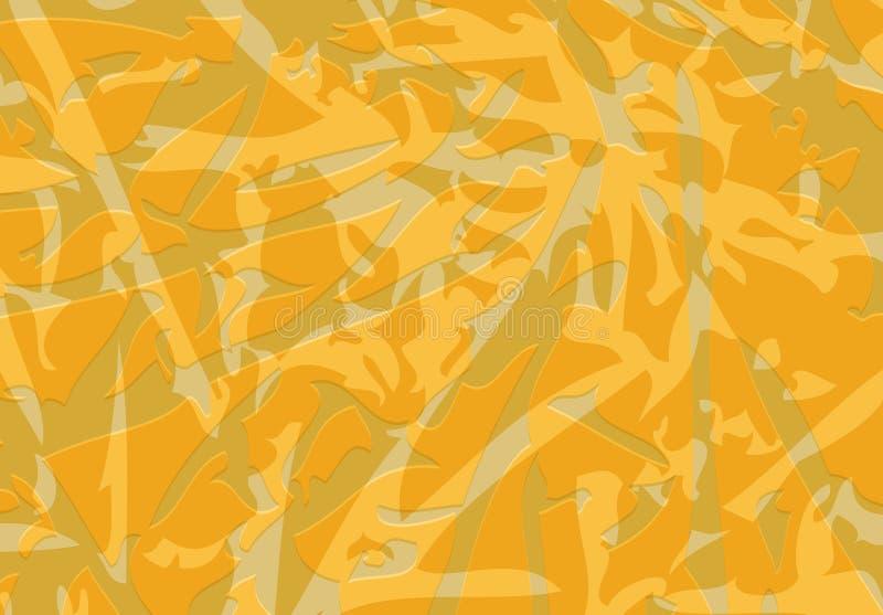 Soustrayez les éléments colorés de vecteur des places de différentes tailles illustration de vecteur