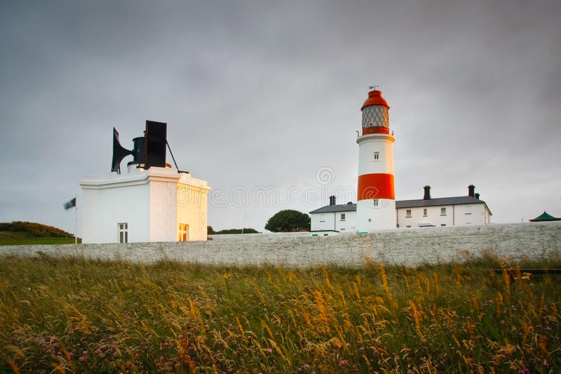Souter latarnia morska w Sunderland. obraz stock