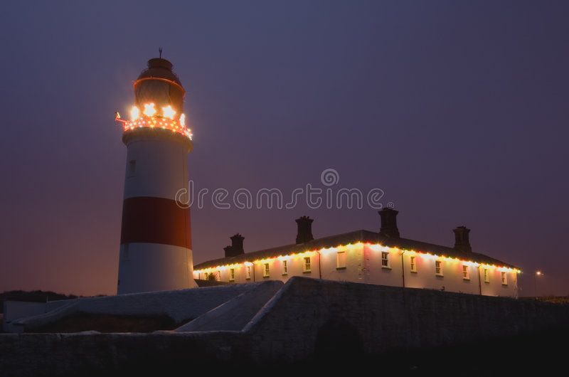Souter Lighthouse royalty free stock photo