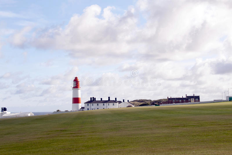 Souter Point Lighthouse stock image