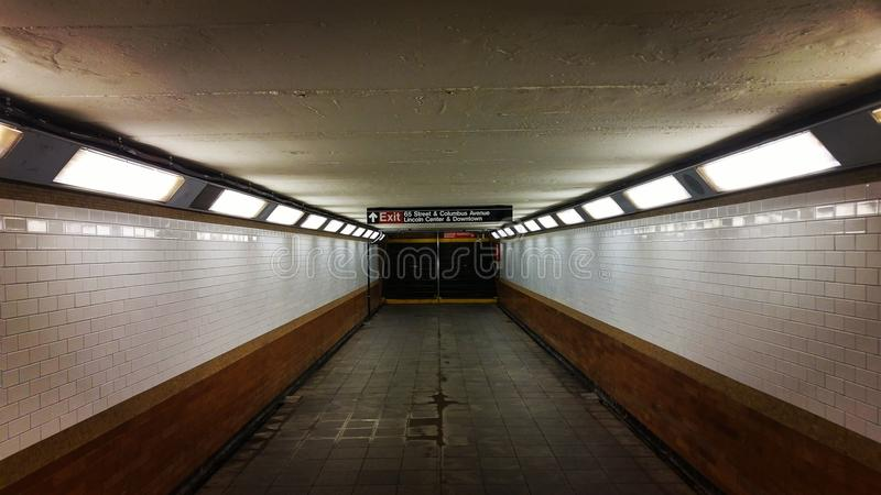 souterrain photo stock