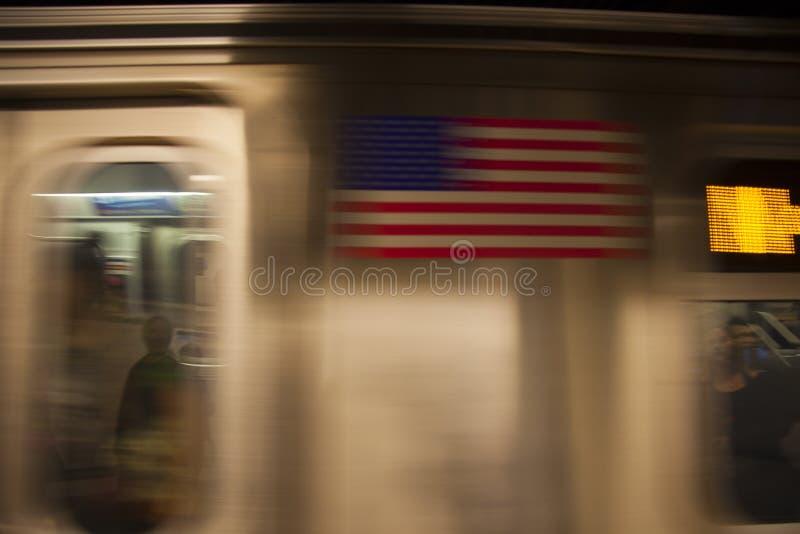 Souterrain de New York image libre de droits