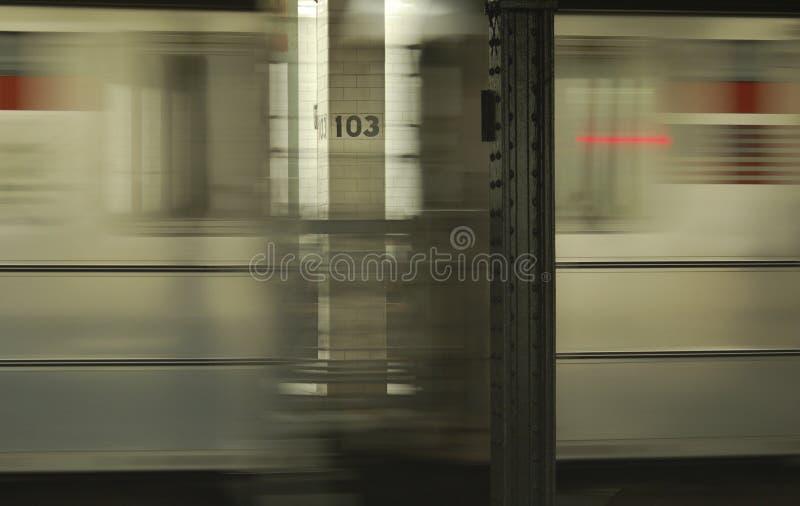 Souterrain de New York photo stock