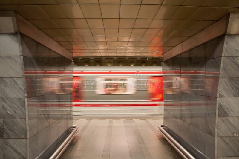 Souterrain de Prague photographie stock libre de droits