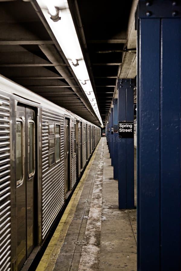 souterrain neuf York de ville photographie stock