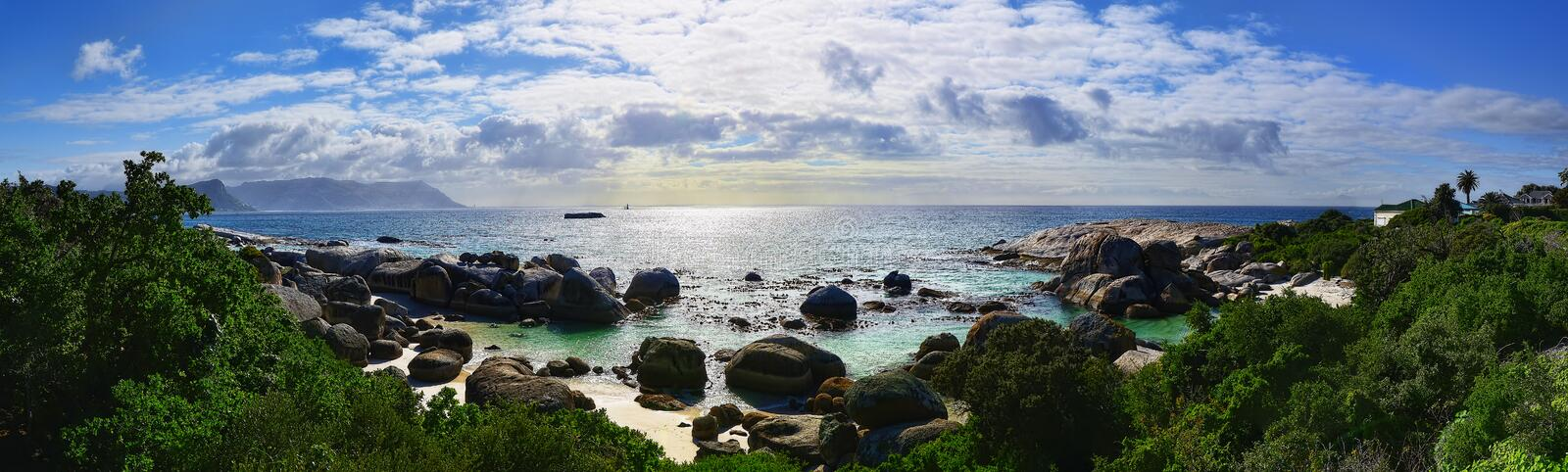 South Africa Boulders Beach royalty free stock image