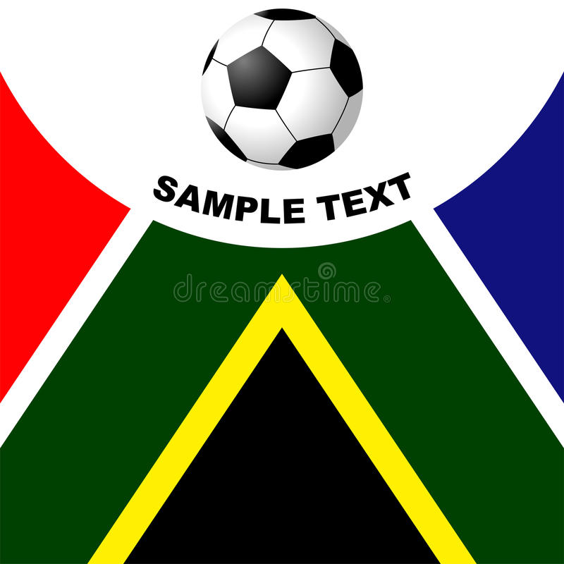Download South Africa soccer stock vector. Image of soccer, background - 13440146