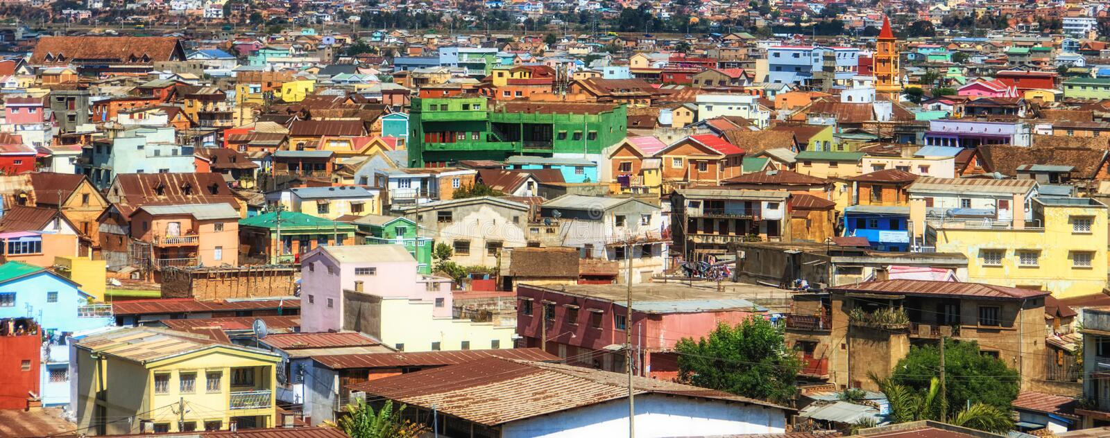 South Africa: Soweto Neighbourhood. Overview of Soweto South Western Townships, Johannesburg, South Africa stock photo