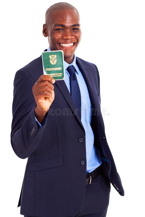 South African Businessman Stock Photo