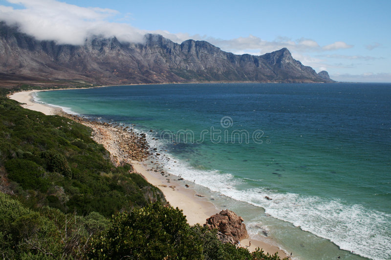 South African Coastline royalty free stock photography