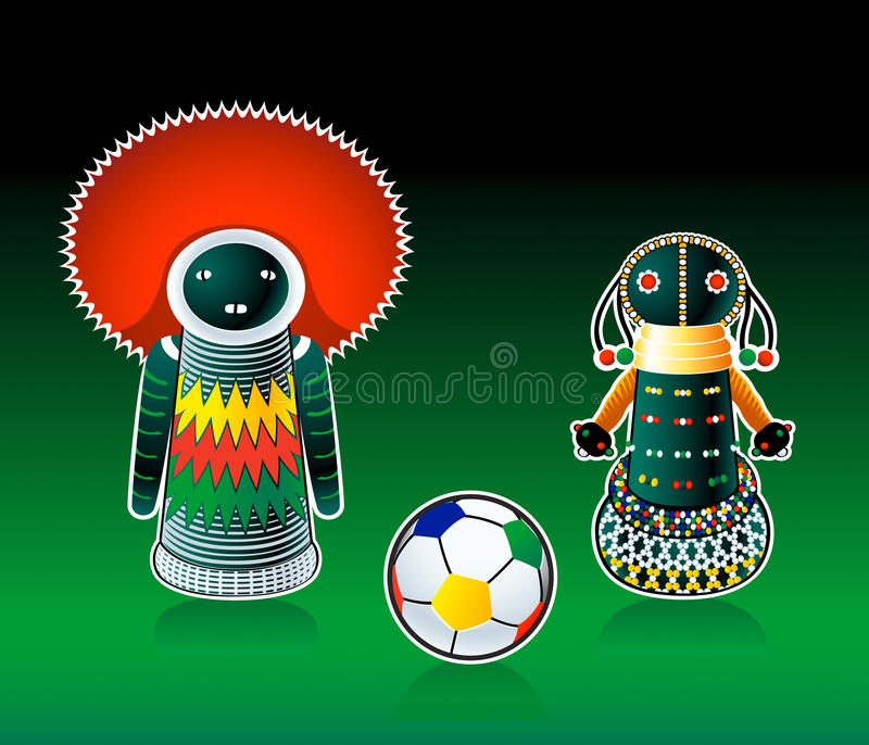 Download South african dolls stock image. Image of match, souvenir - 13532773