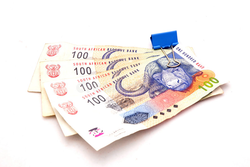 South African Rand royalty free stock photos