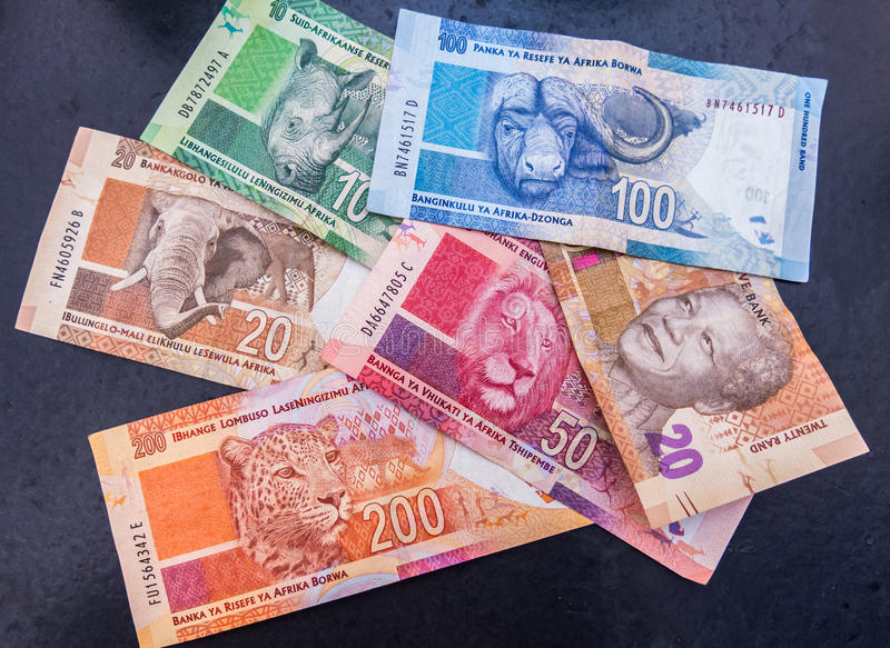 South African Rand stock photography