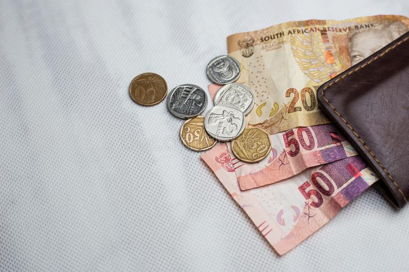 South African Rand royalty free stock image