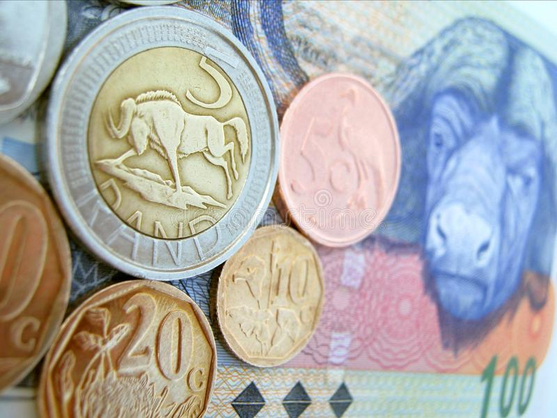 South African Rands royalty free stock photography