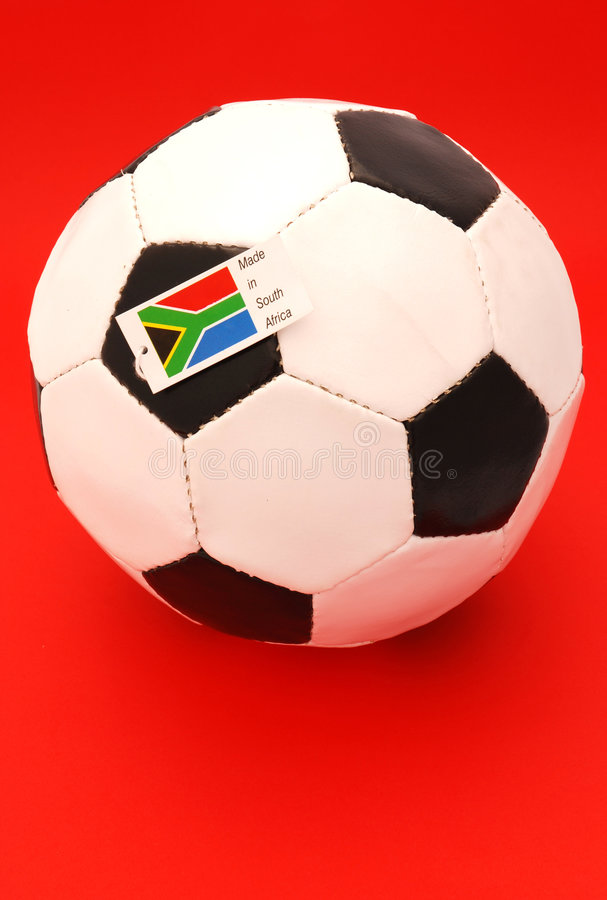 Download South African soccer ball stock photo. Image of international - 4409834