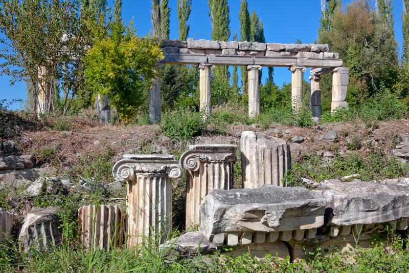 Download South Agora - Aphrodisias stock photo. Image of aphrodisias - 22586716