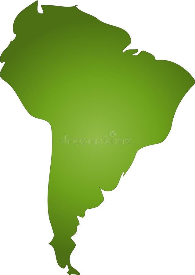 South America stock illustration