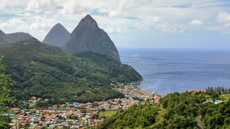 South America and Caribbean 2017 royalty free stock photo