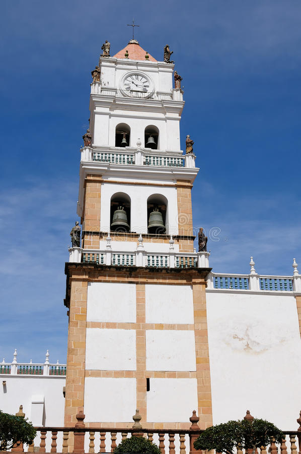 South America, Cathedral in the Sucre stock image