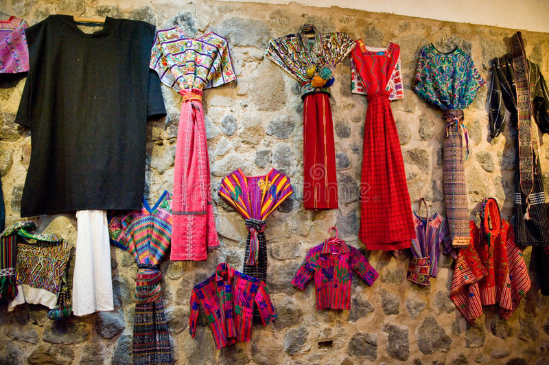 South American clothes royalty free stock photos