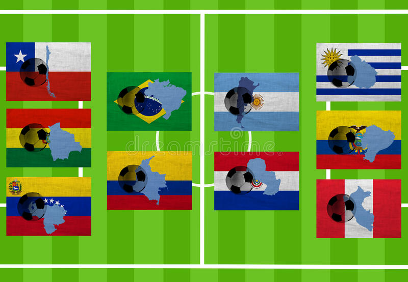 Download South American Football Royalty Free Stock Photography - Image: 26307037
