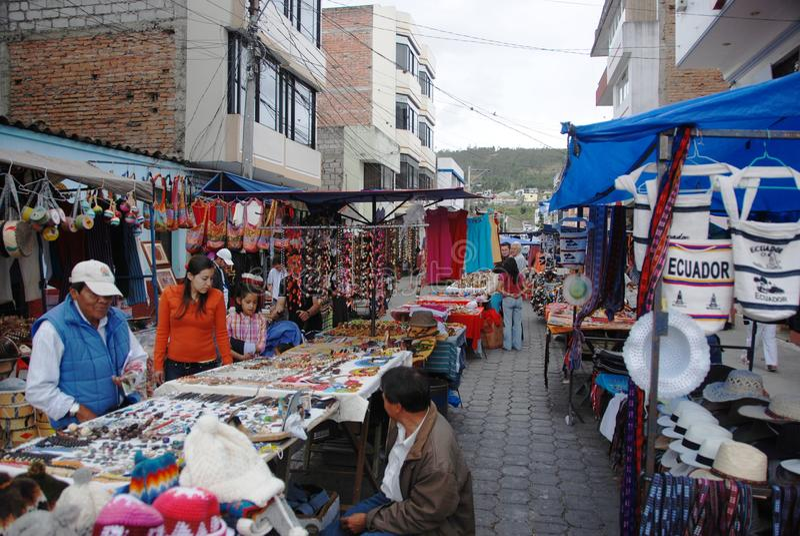 South American market stock photo