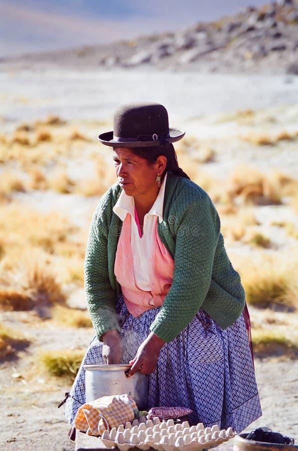 South American woman stock photo