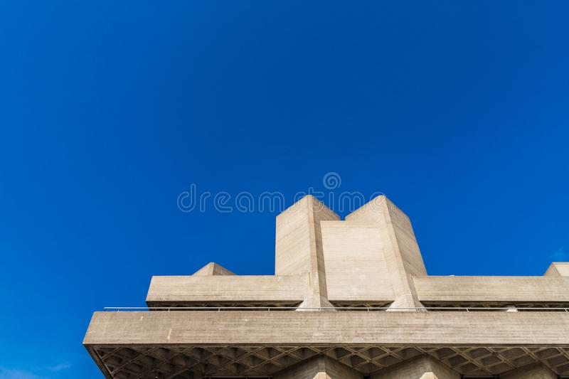 South bank in London royalty free stock image