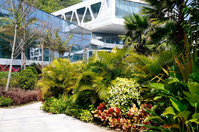 South Bay Sands Hotel royalty free stock images