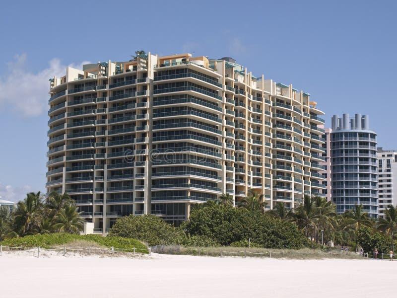 South beach hotel stock photo