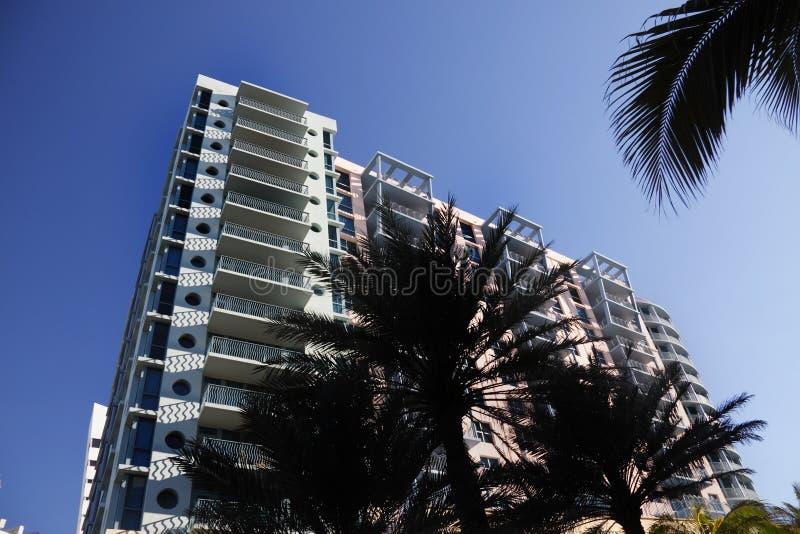 South Beach Hotel, Miami. stock photography