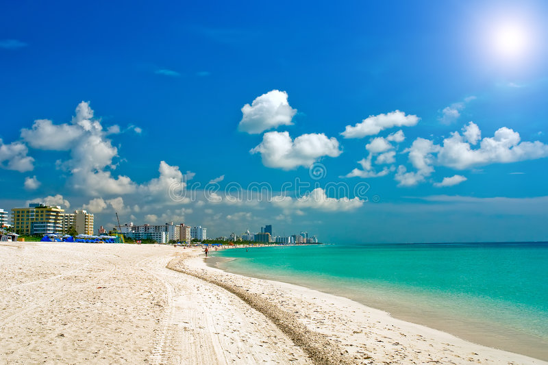 South Beach Miami, Florida royalty free stock images