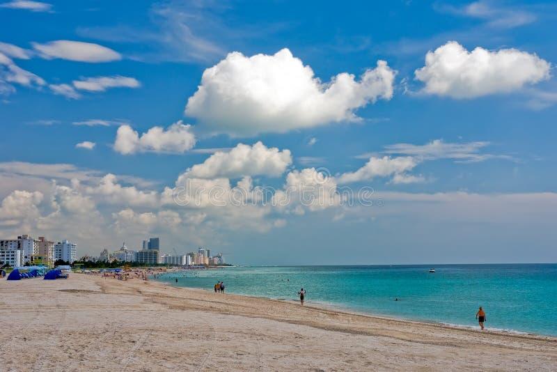 South Beach Miami, Florida royalty free stock photography