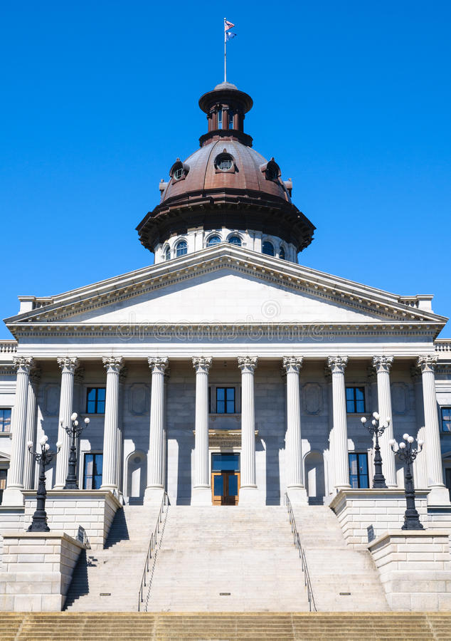 South Carolina State House. Dome stock image