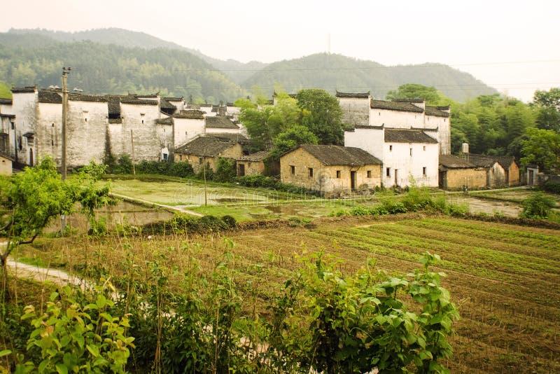 South china farmland landscape view stock photo