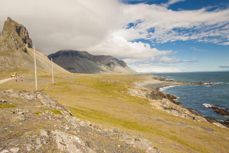 South Coast Of Iceland. Hvalnes. Royalty Free Stock Photography