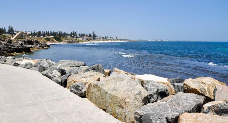 South Cottesloe Beach: Indian Ocean royalty free stock photos