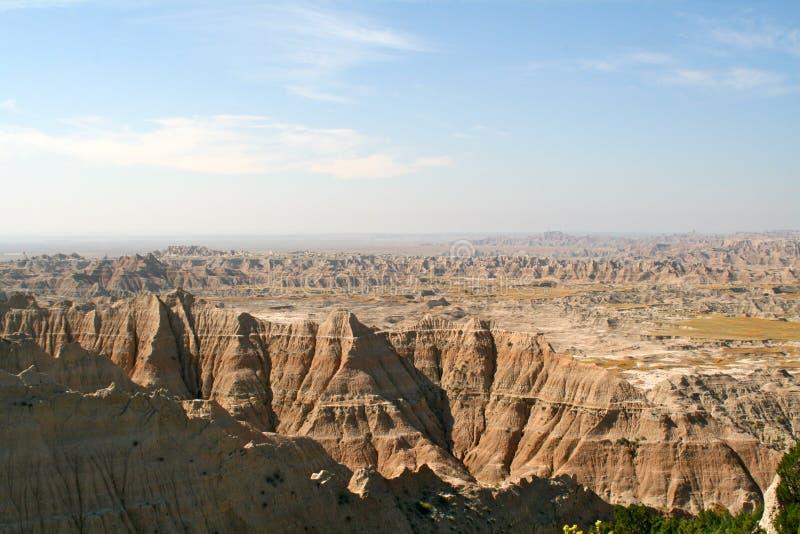 South Dakota: The Badlands royalty free stock photos