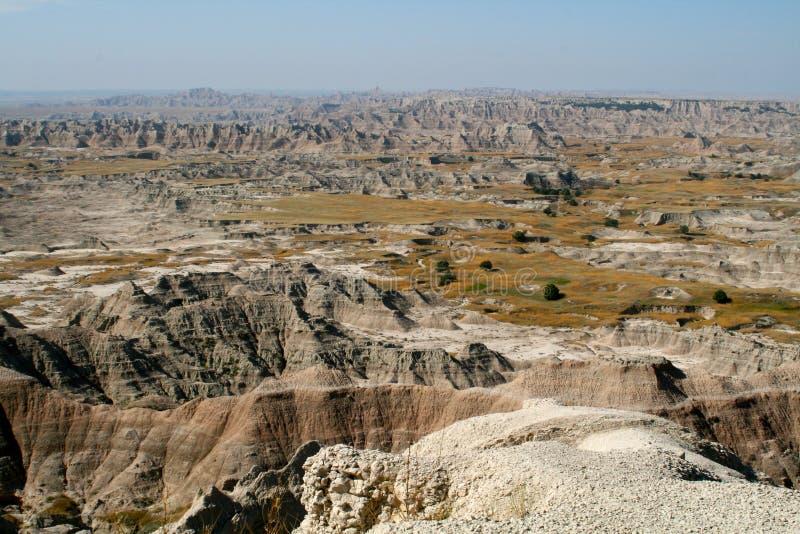 South Dakota: The Badlands royalty free stock image