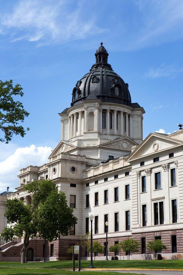 South Dakota Capitol. South Dakota State Capitol building is located in Pierre, South Dakota, USA royalty free stock image